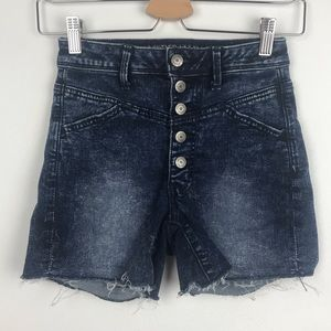 American Eagle AE Super Stretch Button Fly Shorts